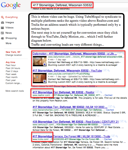 Video Search Engine Results