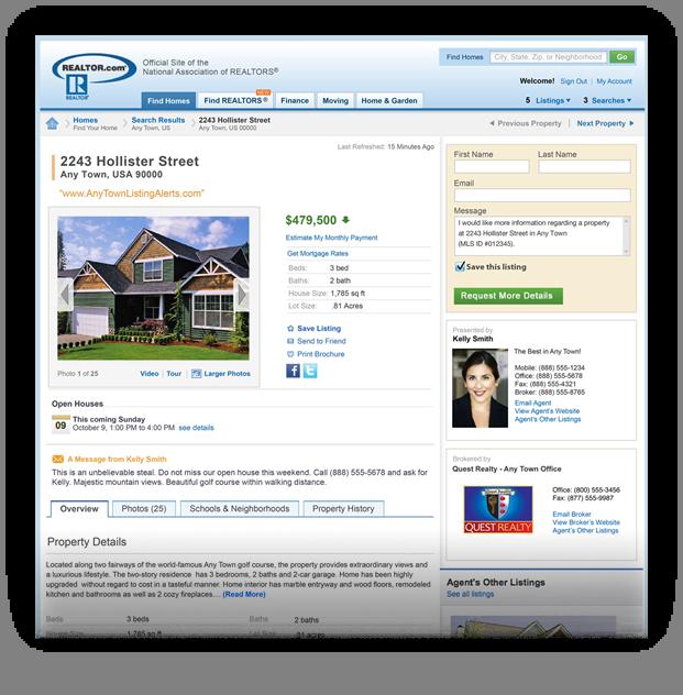 Paid/Enhanced Listing on Realtor.com