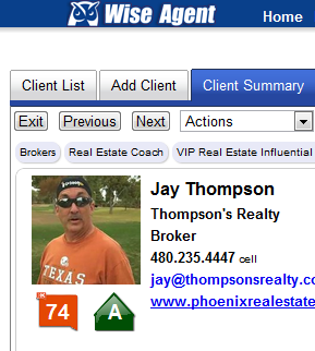 Wise Agent Klout