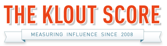 the klout score
