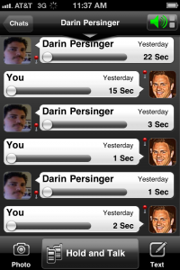 Voxer screenshot