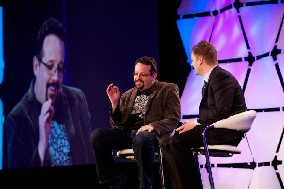CEO of Evernote onstage at Connect New York