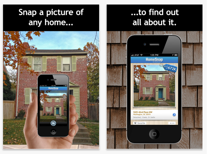 homesnap for iPhone