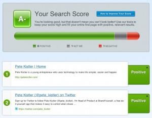 Search Score