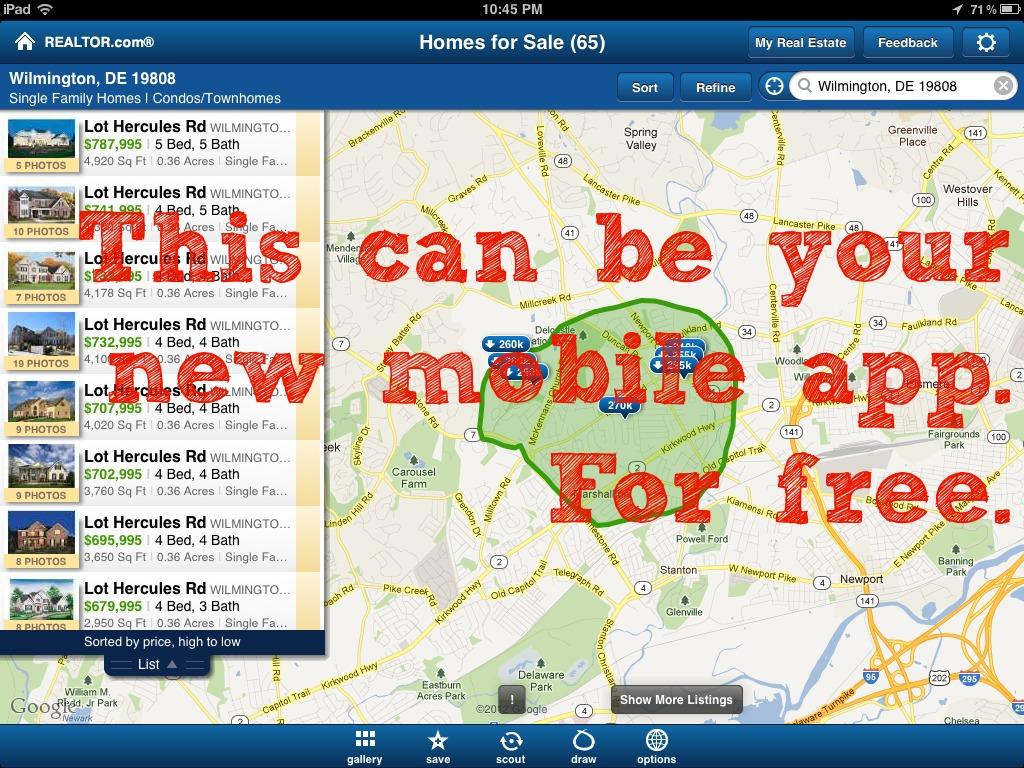 Realtor.com Agent App