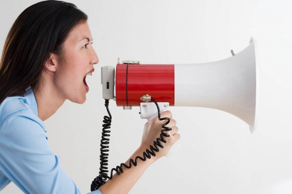 Don't use Twitter as a megaphone instead of a smartphone.