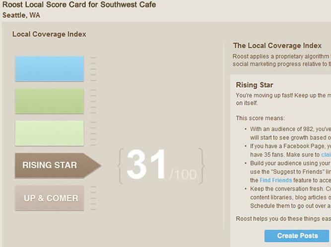 roost scorecard