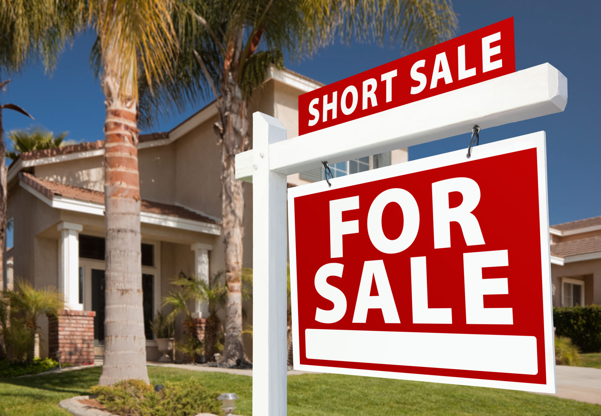 Pursue short sale before deed-in-lieu