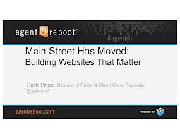 Main Street Has Moved: Building Websites That Matter