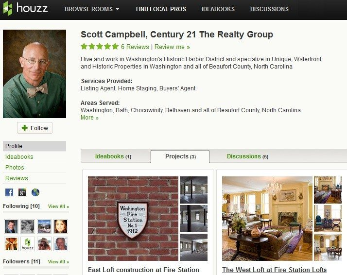 Houzz opens up business directory to real estate agents