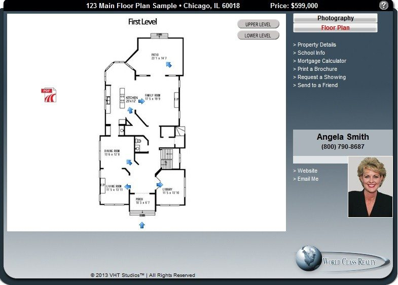 Most @properties listings will feature interactive floor plans