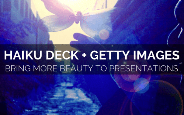 Haiku Deck update integrates Getty Images