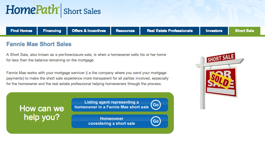 Fannie Mae debuts short-sale tool for agents