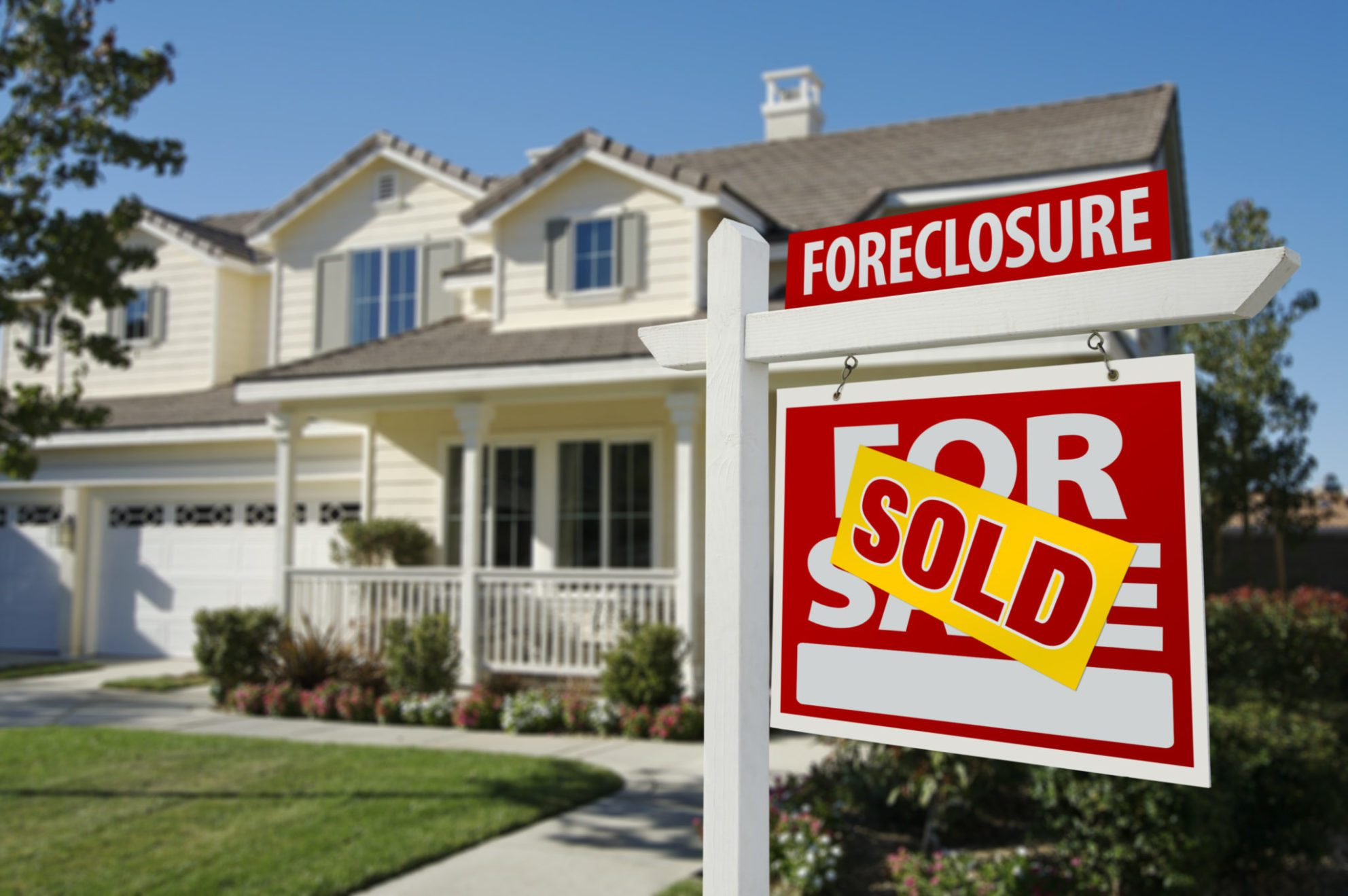 More properties going to the auction block as judicial foreclosure states clear backlogs