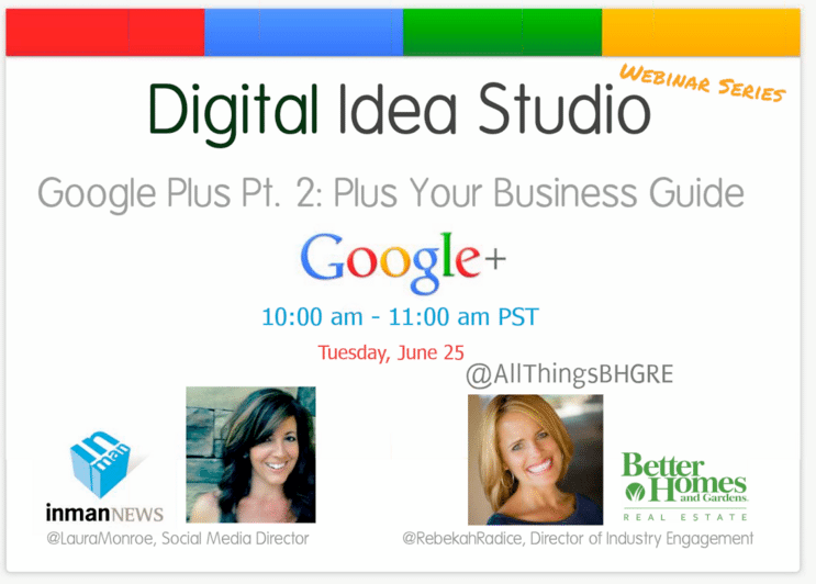 Google Plus for Real Estate Part 2 - [WEBINAR RECORDING]