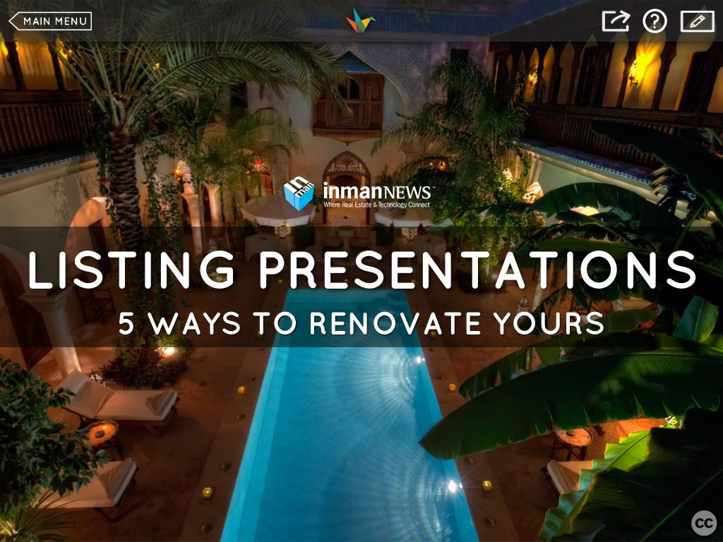 5 Ways to Renovate Your Listing Presentation with Haiku Deck [WEBINAR]