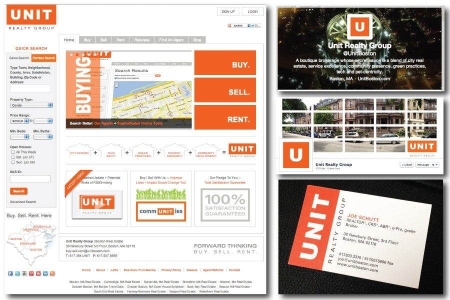 Unit Realty Group Brand