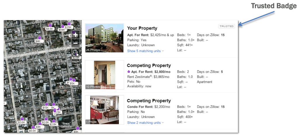 Zillow to offer 'featured properties' for multifamily rental listings
