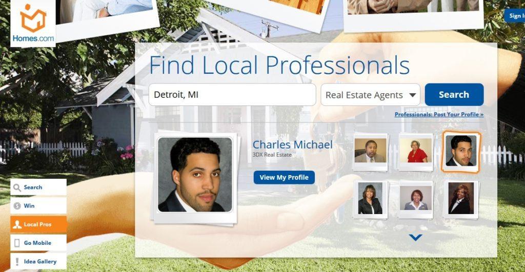 Homes.com first mover to 'parallax design'