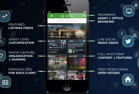 MyCityWay launches agent-branded consumer app