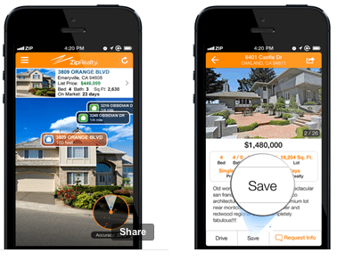 ZipRealty updates mobile apps with off-market data, home values