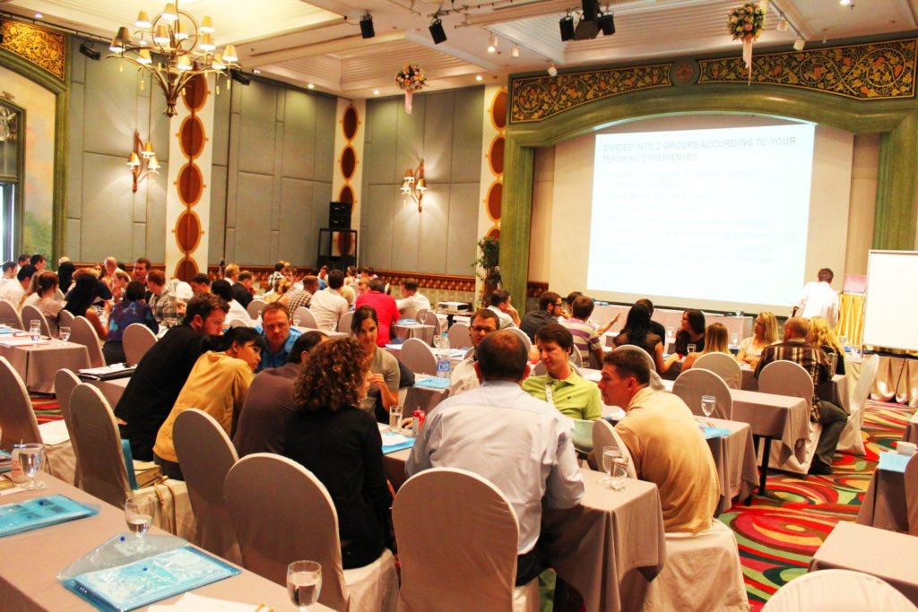 Bring back unstructured real estate BarCamps