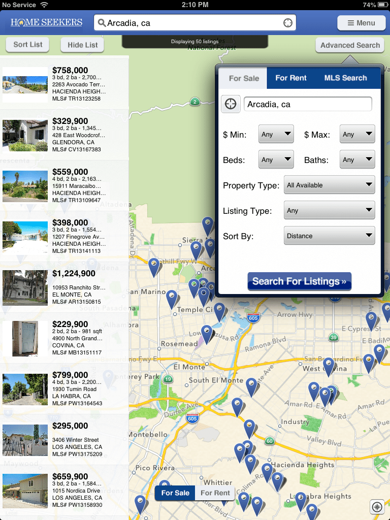 Nation's biggest MLS rolls out Homes.com consumer mobile apps