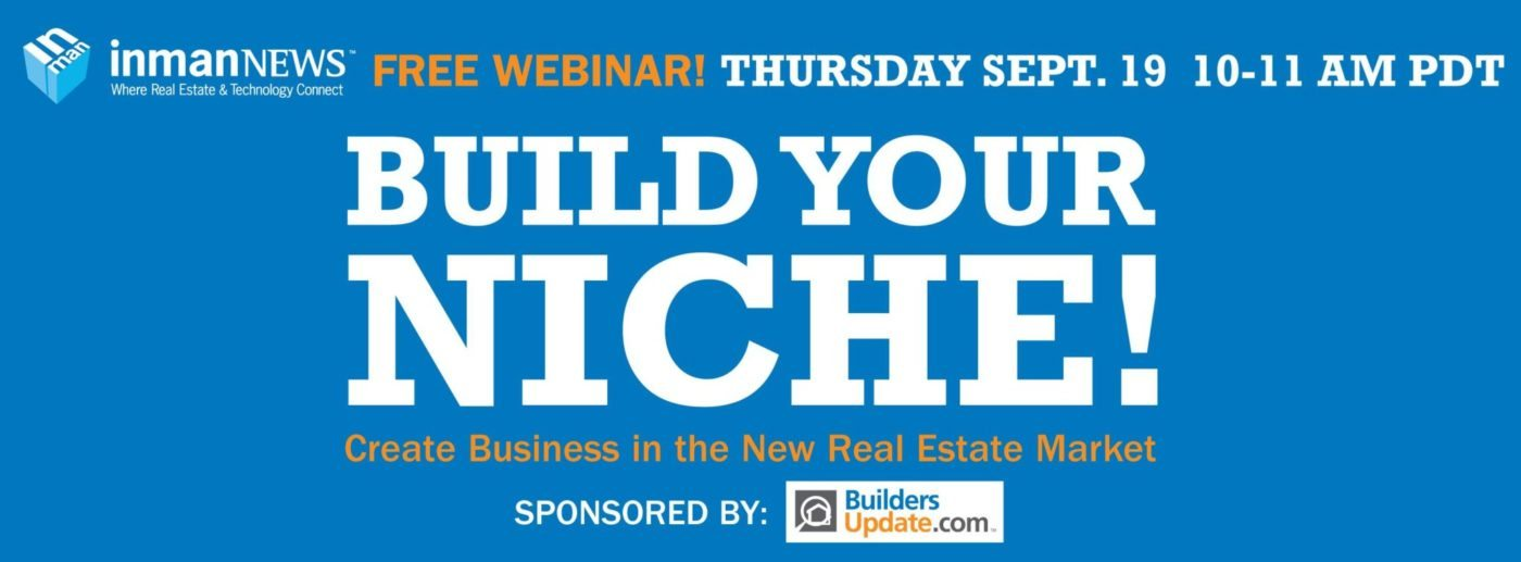 Learn to build a remarkable real estate niche - Join us!