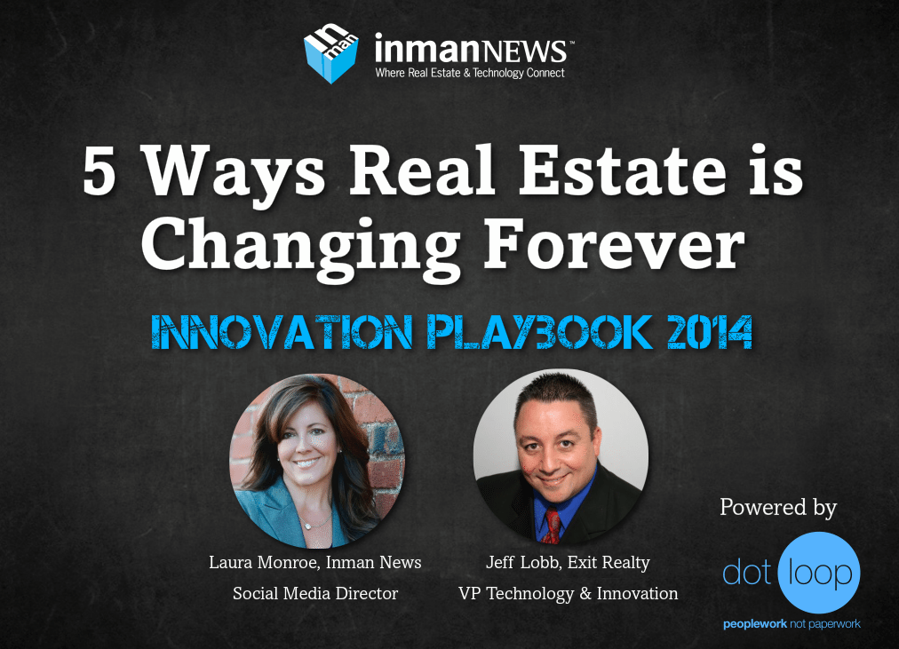5 ways real estate is changing forever: Build your 2014 playbook (webinar recording)