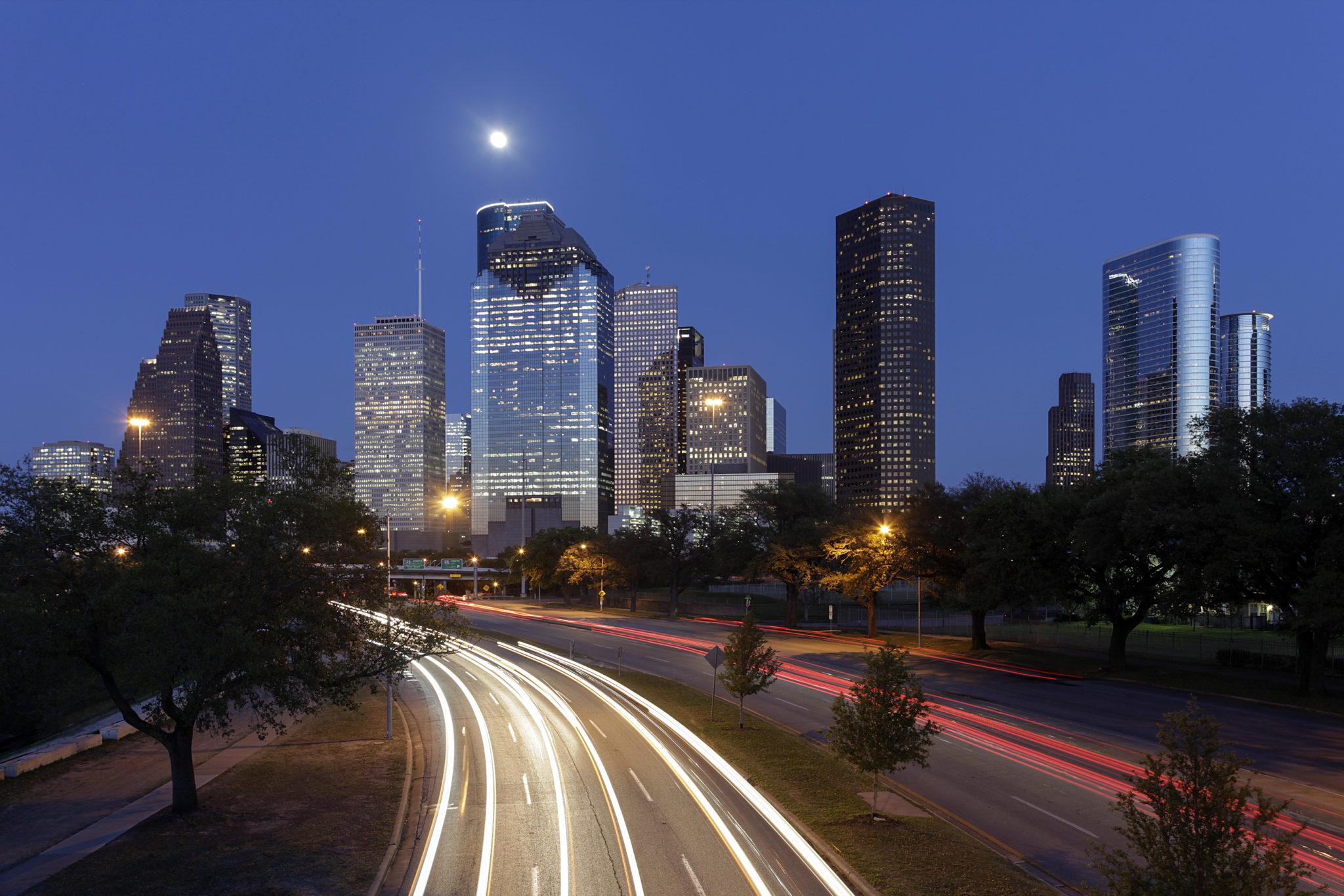 Houston image via Shutterstock.