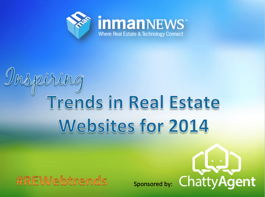 Inspiring real estate website trends for 2014 (webinar recording)