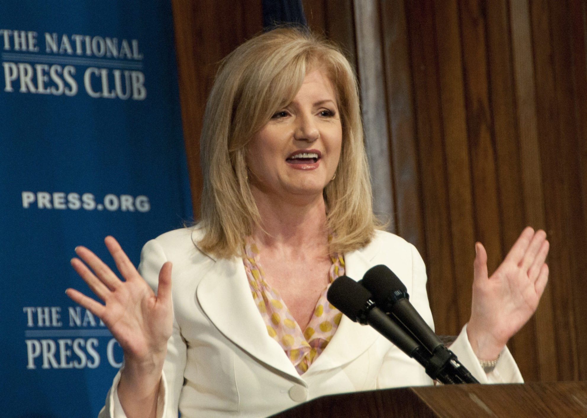 Arianna Huffington announced as keynote speaker at Real Estate Connect NYC