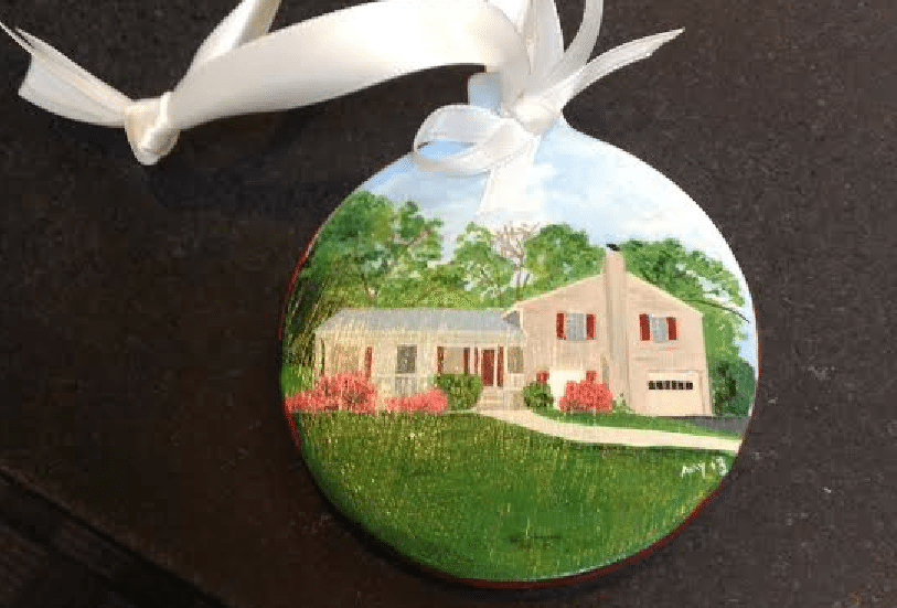 @home Real Estate's Christmas ornaments keep brokerage top of mind with clients