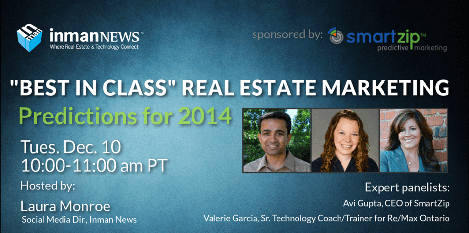 Predictions for 2014: 'Best in class' real estate marketing [webinar recording]