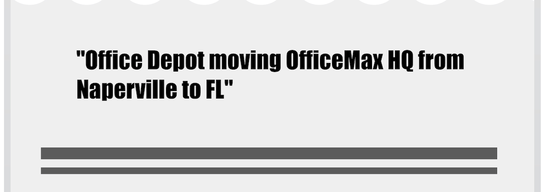 Inman Next OfficeMax Move