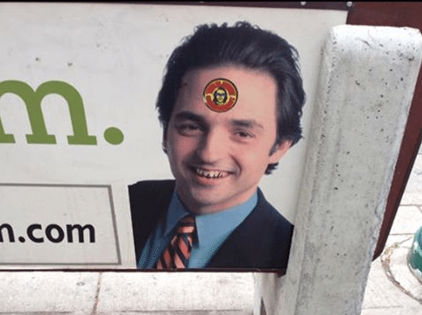 Edina Realty agent launches 'Bus Bench Challenge,' urging people to deface his ads