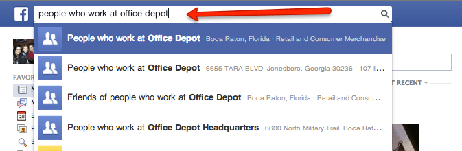 inman next office depot search
