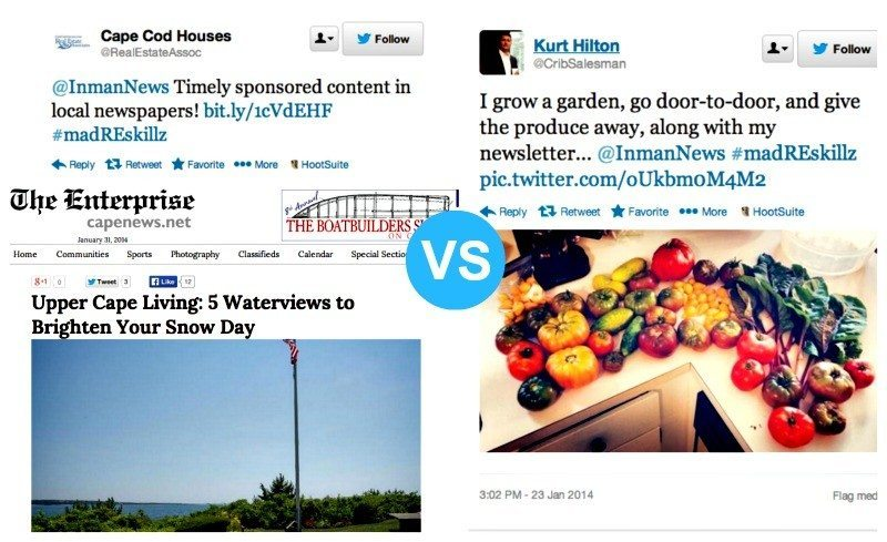 Produce prospecting vs. 'sponsored content'