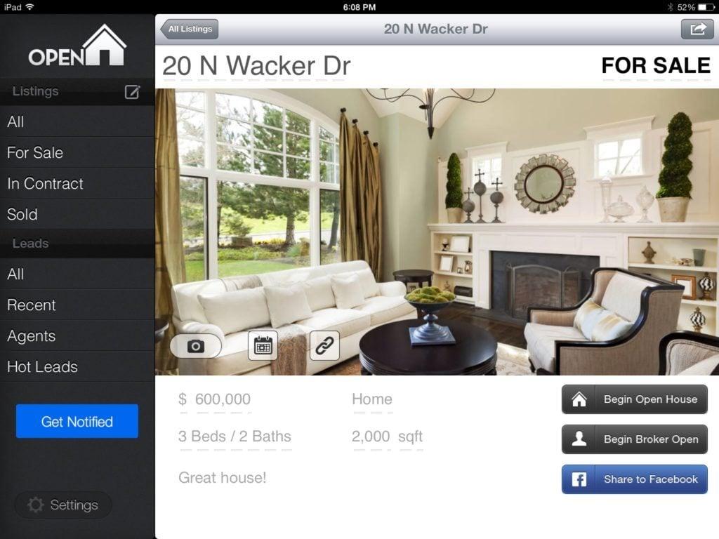 HomeFinder.com acquires Open Home Pro, maker of popular agent iPad app