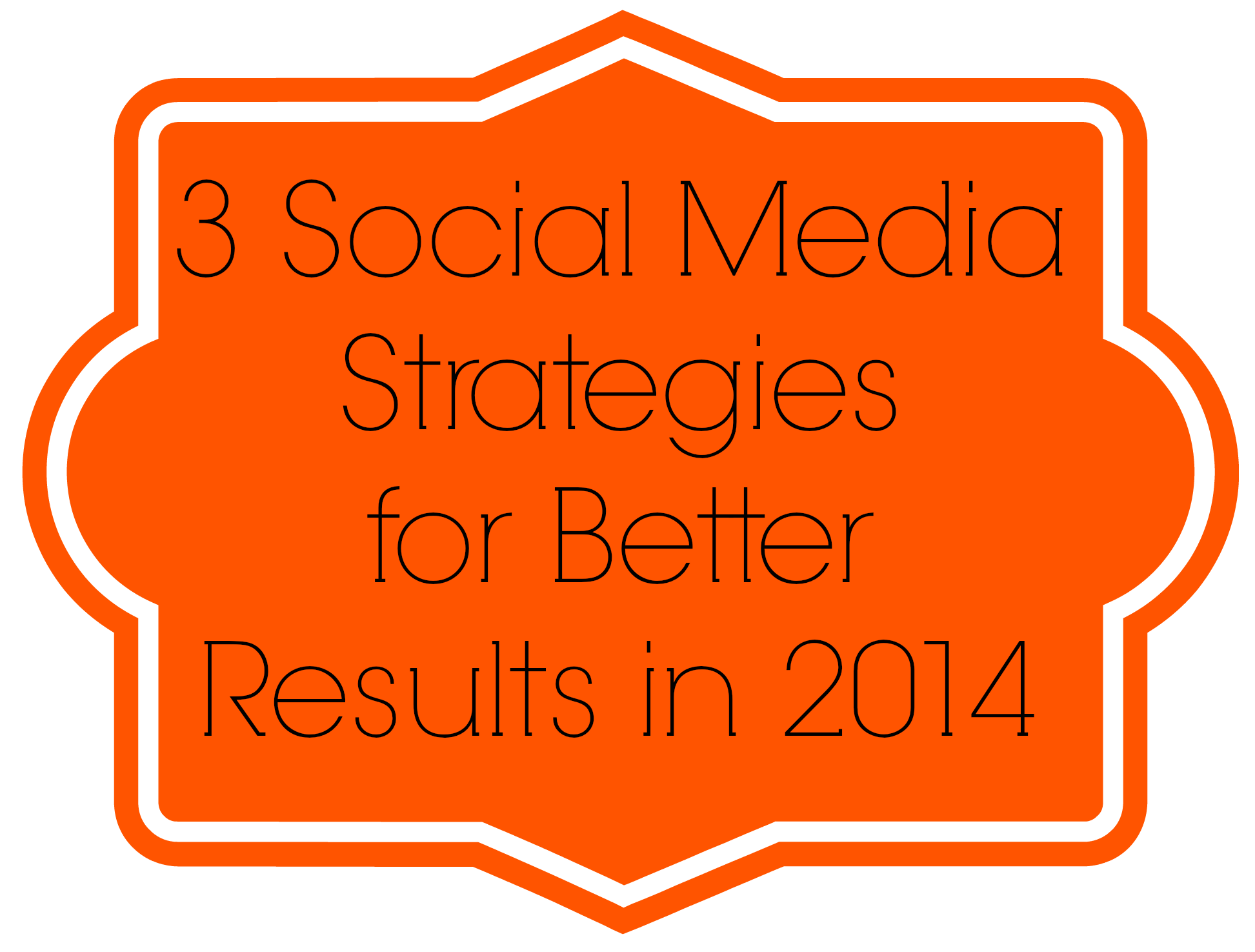 Get better social media results in 2014: 3 strategies that will up your game