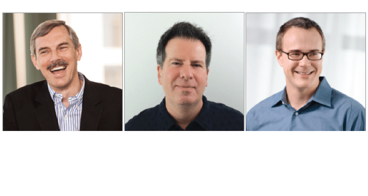 Stefan Swanepoel, Michael McClure and Jack Miller.