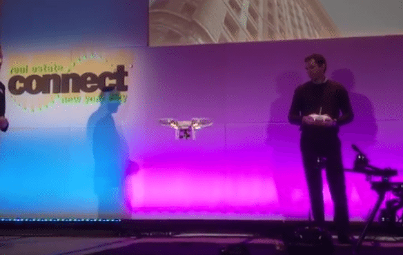 Drone takes flight at Real Estate Connect