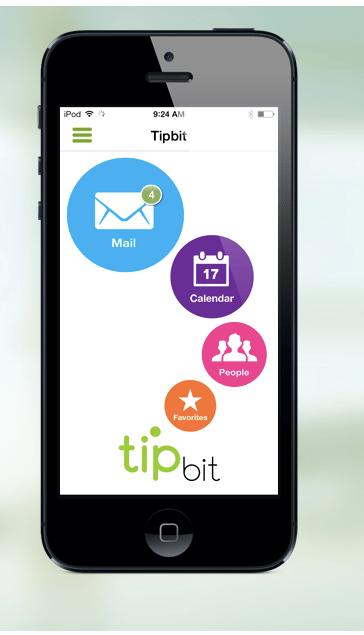 Tipbit, a 'smart inbox,' acts like personal search engine to display content related to current task