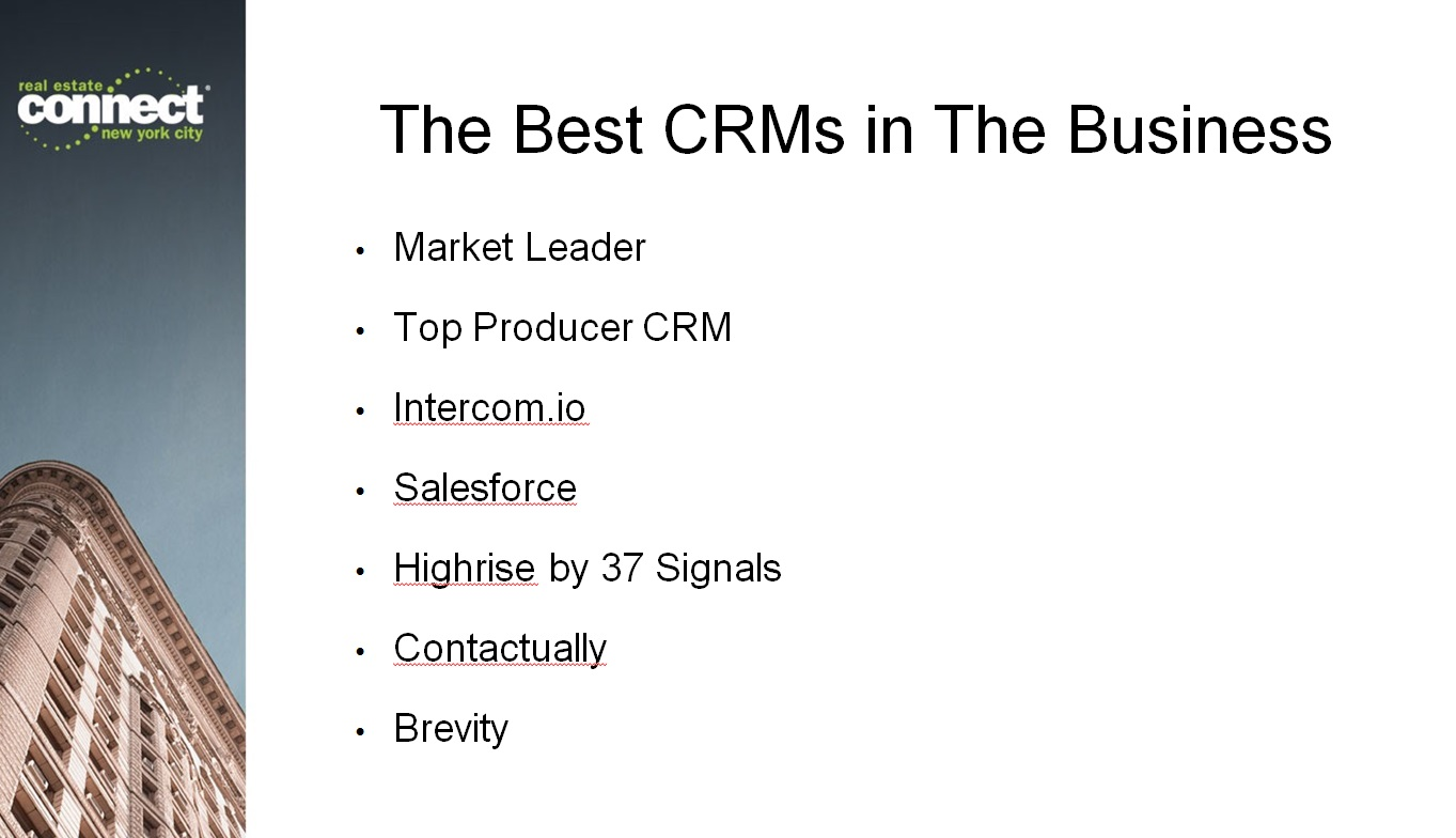 Know the best CRMs in the business -- and which you should use