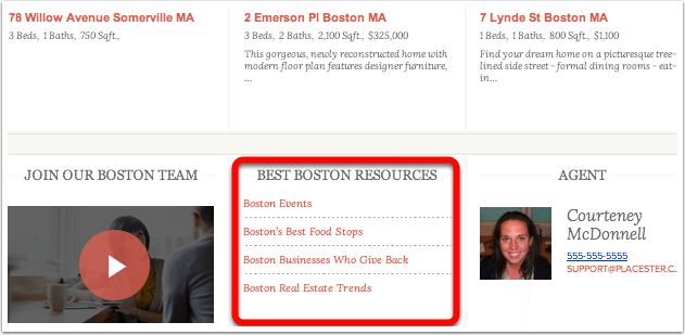 Boston-Widget-Menu