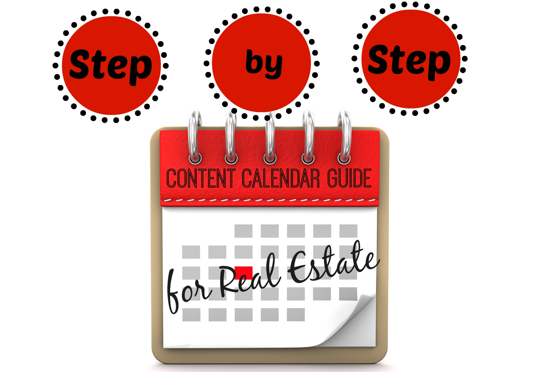 step by step guide to a successful real estate content calendar