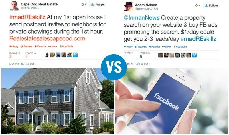 Targeted Facebook ads vs. neighbor-only open houses