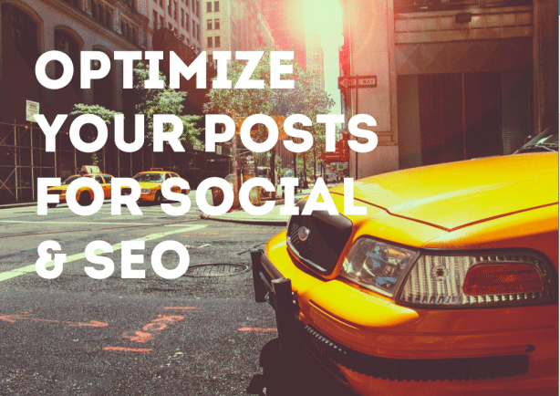 Optimize your blog posts for SEO and social sharing with creative titles, metadata