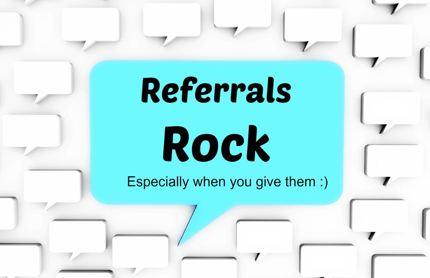 Want more real estate referrals? Pay it forward