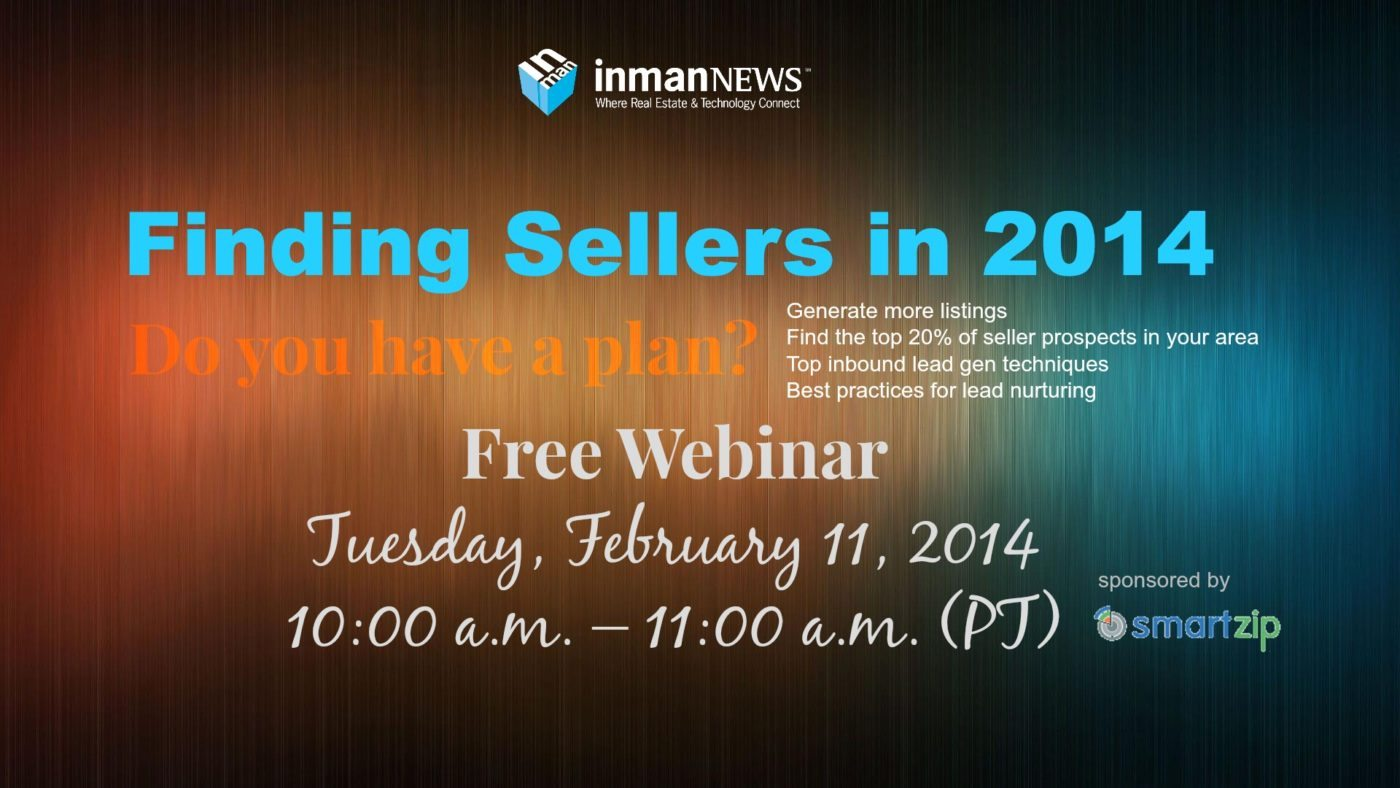 Finding sellers in 2014: Do you have a plan? [webinar recording]